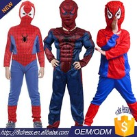 Halloween garçons party outfit kid spiderman costume