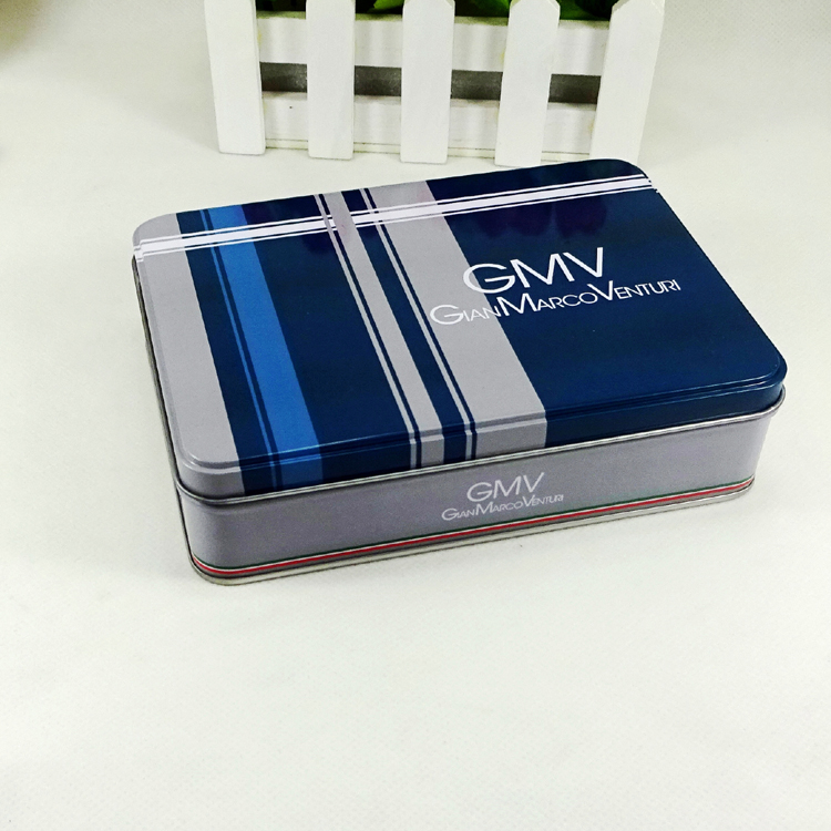 Food grade metal material rectangular chocolate tin box