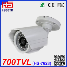 Shenzhen Huishi Weatherproof 700TVL Sony CCD 30m Night Vision 3.6mm board Lens Outdoor Camera CCTV