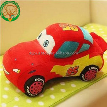 Red small baby cute plush car baby toy