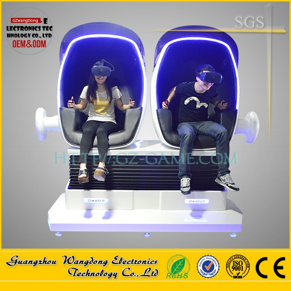 New 9D Vr Seat Virtual Reality Movie with Head Shooting Interactive Game