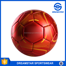Factory Cheap Rubber Futsal Kids Sports Football With Red