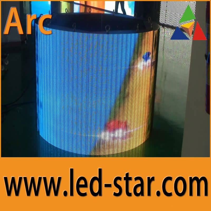 Hotstar arc full color LED screen led video wall panel high quality low price