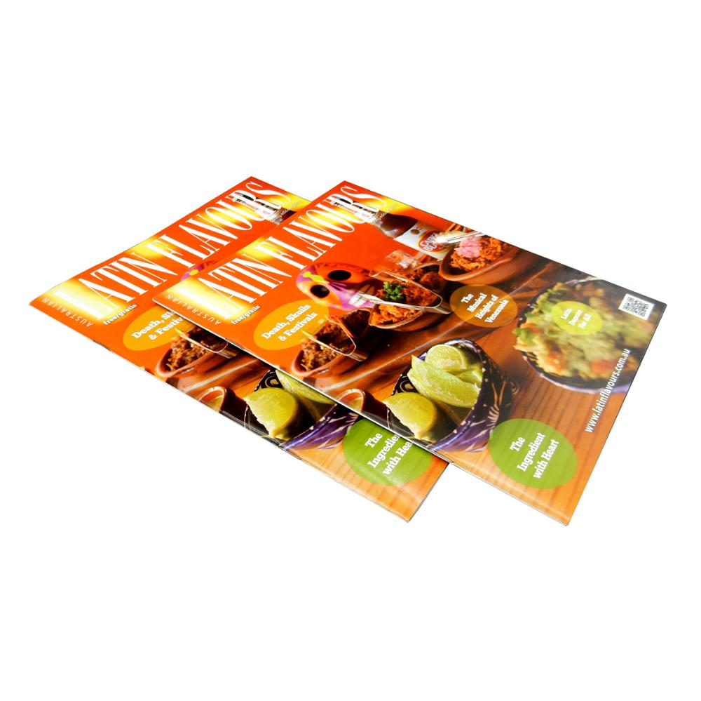 Colorful high quality magazine printing with free sample