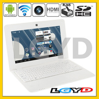 N10 White, cheap 10.1 inch Android 4.2 Netbook Computer RJ45 Port, 1.3 Mega Pixels Camera, 1GB RAM + 4GB ROM, CPU: VIA WM8880