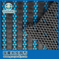 Lady dress knitted mesh fabric, garment fabric