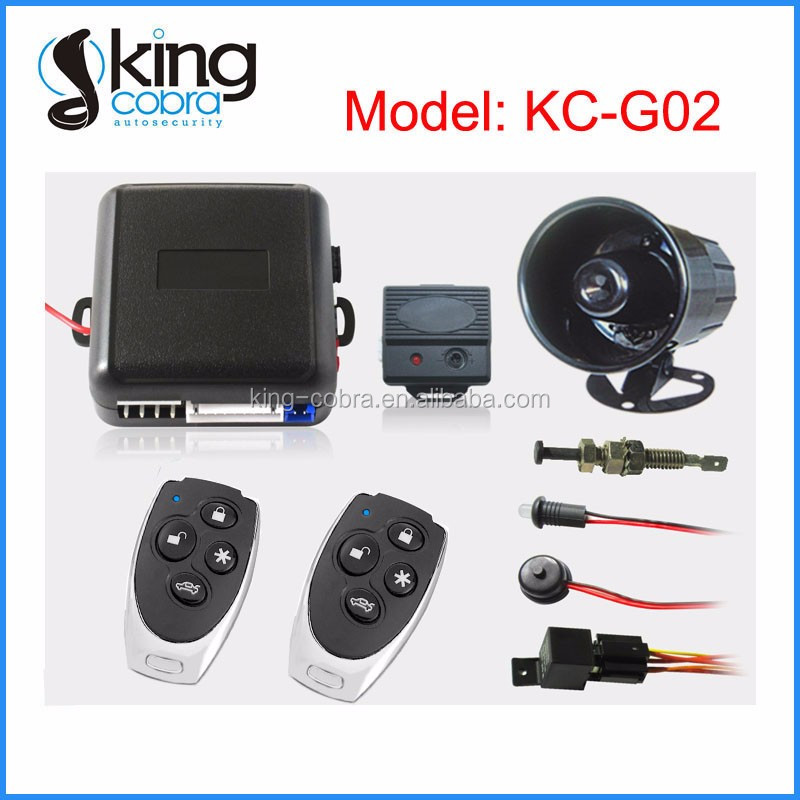 Long Distance Transmitting Keyless Entry Car Alarm Security