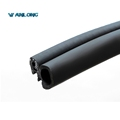 Car Door Rubber Side Bulb Seal Weatherstripping Edge trim