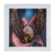 Handsome eagle diamond picture 3d diamond painting
