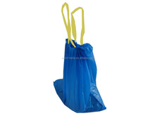 Manufactured cheap good HDPE plastic drawstring garbage bag on roll