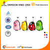 2017 whosale kids cute customized school trolley luggage bags
