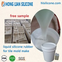 wholesale silicone rubber for cement products molding liquid silica gel