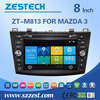 ZESTECH for mazda 3 car gps dvd audio system 2010-2013 Bluetooth TV USB Radio SD