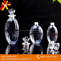 Round Clear Diamond cap car air freshener bottle