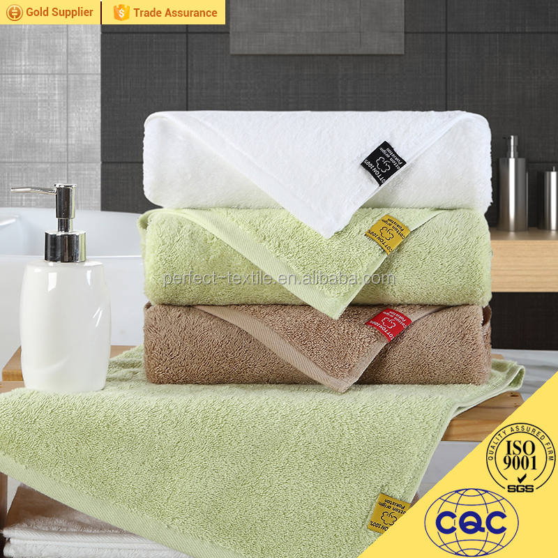 Hotel use 100 cotton dying color bath towel