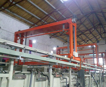 Rack Hanging Fishing Climbing Type Plating Production Line euqipment