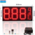 Trade Assurance High Brightness Red Color 12'' LED Gas Price Sign with 8.88 9/10 Display format