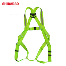 Fluorescent color full body <strong>safety</strong> belt 5 point harness