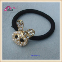 hot sale good quality girls hair accessories/ ponytail holder