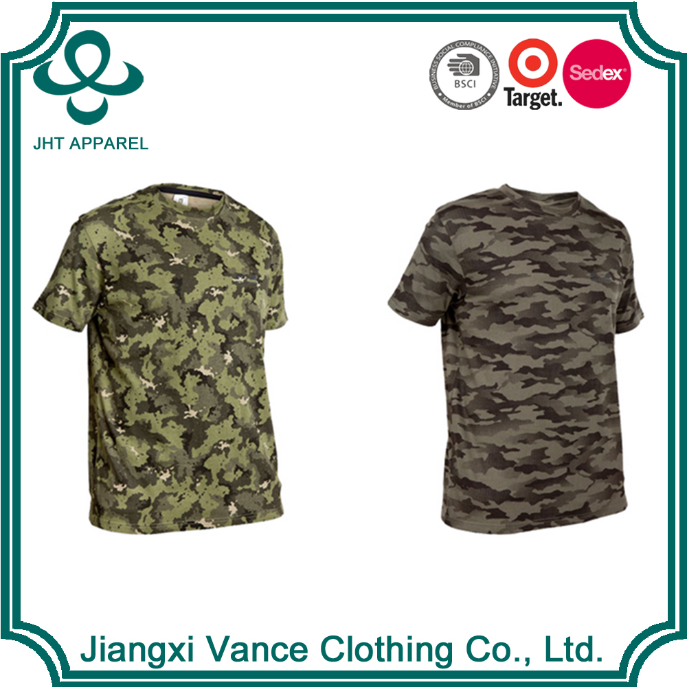 cheap wholesale camo military camouflage different color blank camo bulk wholesale 100 polyester wholesale camo t shirts