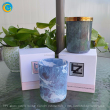 marble glass candle holders yufeng amethyst candle holder
