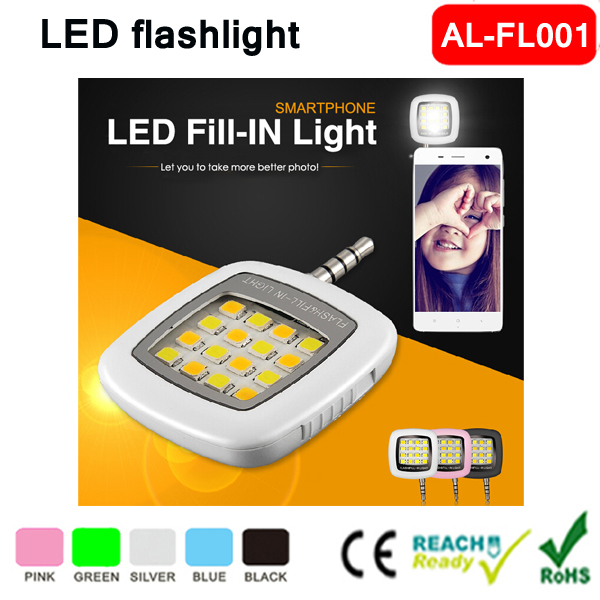 Hot Mobile Phone Camera External Flash LED Fill Light Night Using Selfie Enhancing Flash Light Led Rechargeable Flashlight