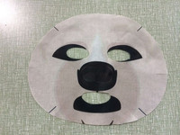 Real factory face mask pattern animal facial mask paper
