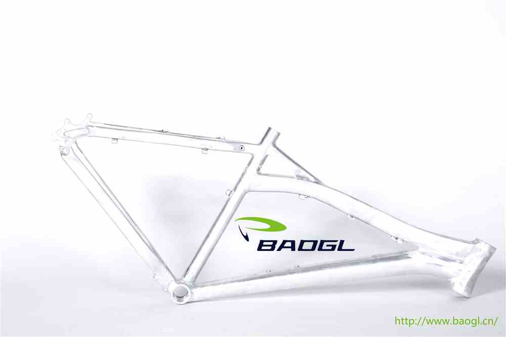 BAOGL bicycle frame for heavy duty bicycle tires