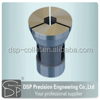 cnc soft jaws collet low hardness collet