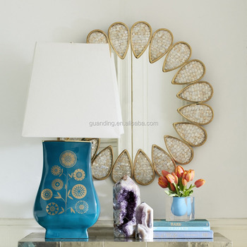 modern elegant unique fancy special design for home use decorative wall mirror