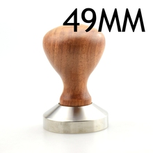 Many Choices for Length of Stainless Steel Coffee Tamper Flat Base and Wood Handle