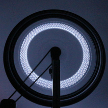 Hot Bicycle Accessory Spoke LED Light Wheel Lamp Tyre Tire Valve Cap Light