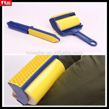 as seen on tv Reusable sticky picker upper lint roller set easy remove dust brush with built-in fingers