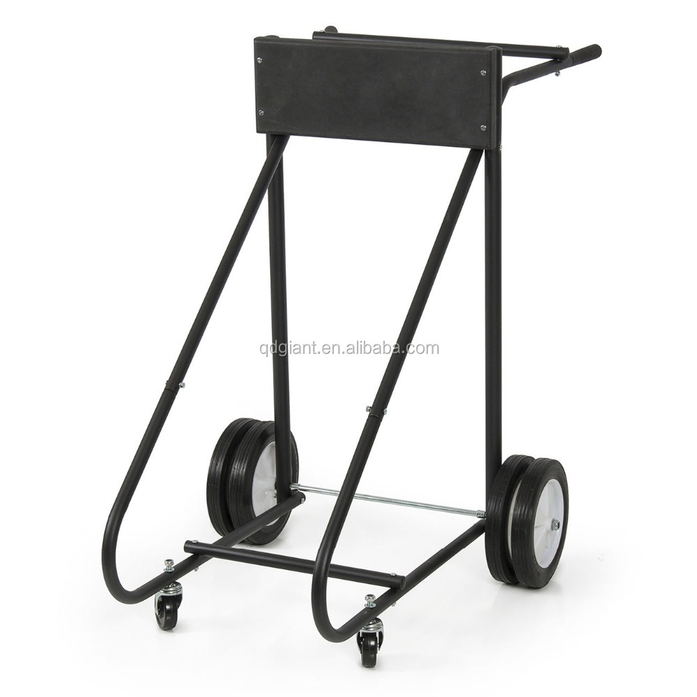 Outboard Boat Trolling Motor Stand (315 LB) Carrier Cart Dolly Storage Dollies