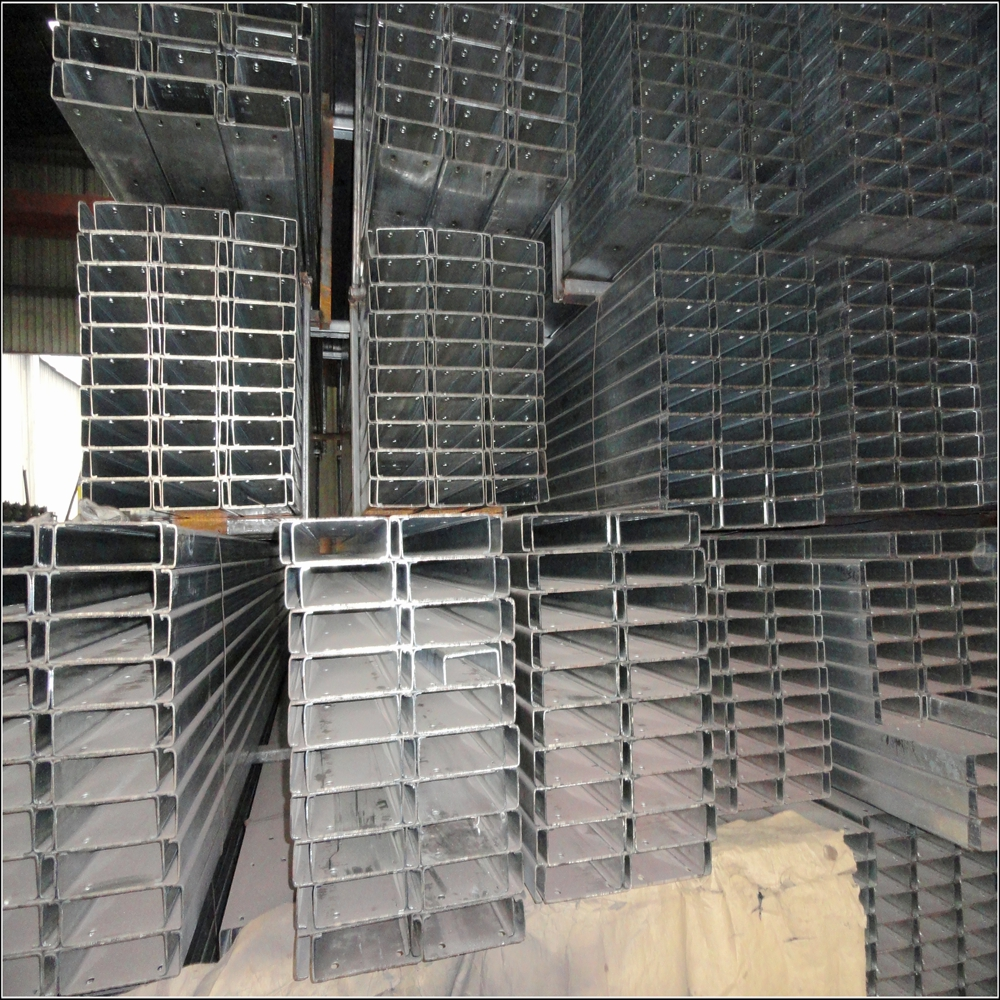 galvanized GB Q345 C type C20a size 200*73*7*11 steel channel