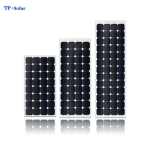 sunpower cell flexible PV monocrystalline solar panel system laminated with ETFE