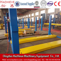Cheap four post wheel alignment lift / 4 post lift used for auto car workshop