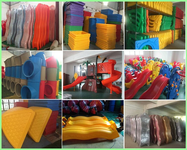 Cheap and big size outdoor playground equipment