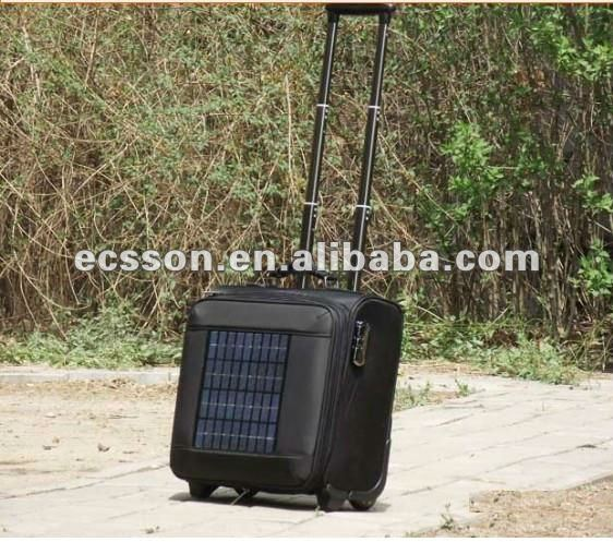 12000mAh portable solar charger bag