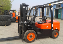 Latest Edition Factory Sale Diesel New 3 Ton Forklift Price