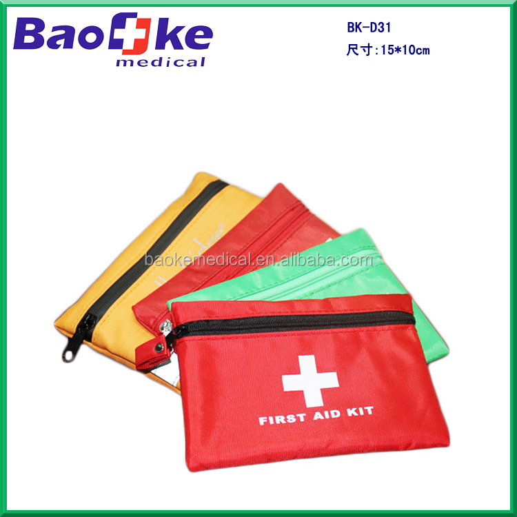 CE and ISO13485 certificated mini first-aid kit