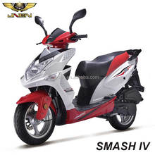 SMASH IV/Eagle King 50CC JNENMotor Cheap Moped Gas Powered Scooter 49cc for Sale With Big Fat Tire Large Seat Meet With EEC DOT