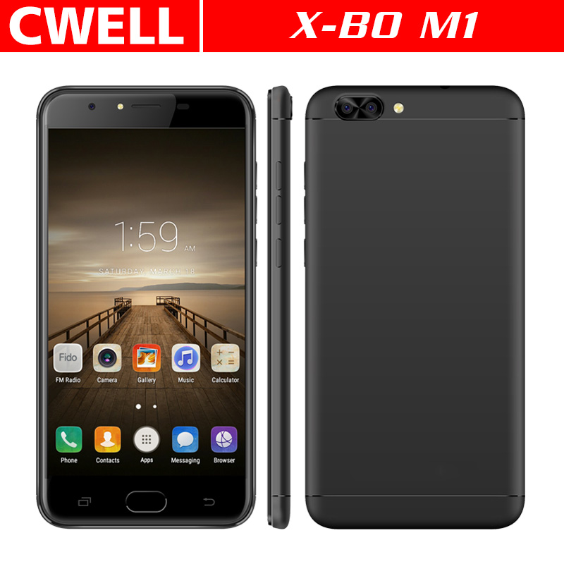 Wholesale Cell Phone X-BO <strong>M1</strong> MTK6737 Quad Core 1GB RAM/16GB ROM 3000mAh Big Battery 4G China Mobile Phone