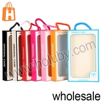 China Wholesale 10.5x17.6x2.2cm New Fashion Transparent PVC Cellphone Phone Case Packing Box Retail Package with Strap