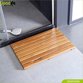 Factory wholesale teak wood anti slip bath mat from China guangdong