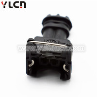 Female 2 way black waterproof auto plug for EV1 Injector wire harness Connector