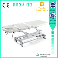 facial and chiropractic electric hospital medical bed