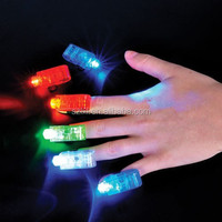 NEW 40 LED LASER FINGER LIGHTS PARTY FAVOR GREEN WHITE RED BLUE DANCE CLUB FUN