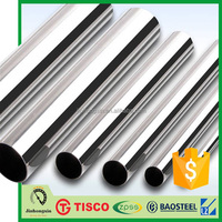 Hot tube8 Chinese 201 Stainless Steel round tube factory price