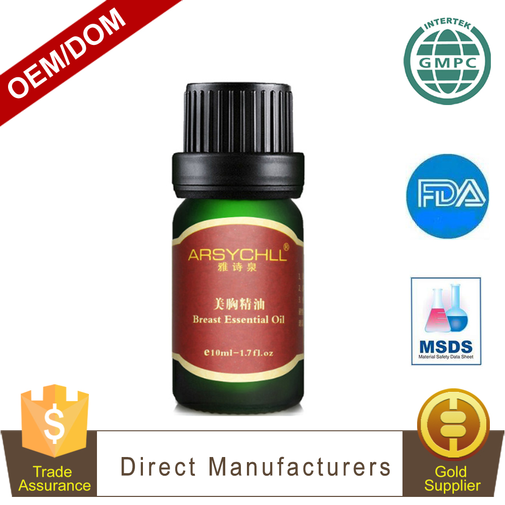 Hot Selling Natural Herbal Breast Enhancement / Increase Massage Oil For Women